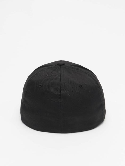 Thug Life Basic Flexfitted Cap Basic Old English schwarz