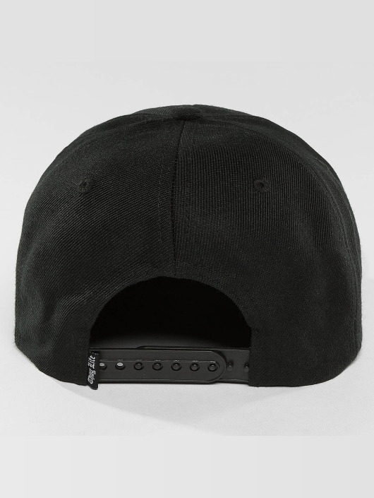 Thug Life Snapback Cap Worldwide black