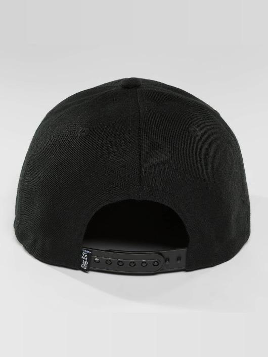 Thug Life Snapback Cap Panther schwarz