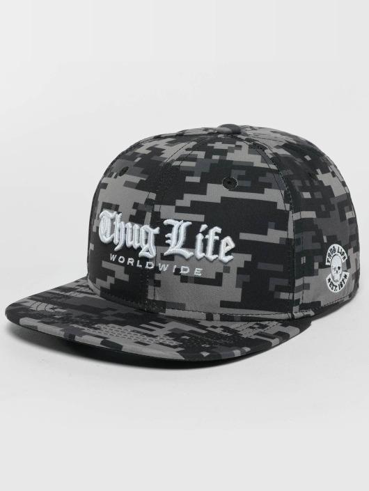 Thug Life Snapback Caps Digital moro