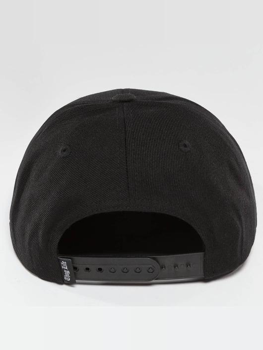 Thug Life Snapback Caps Raw svart