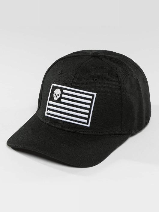 Thug Life Snapback Caps Flag svart
