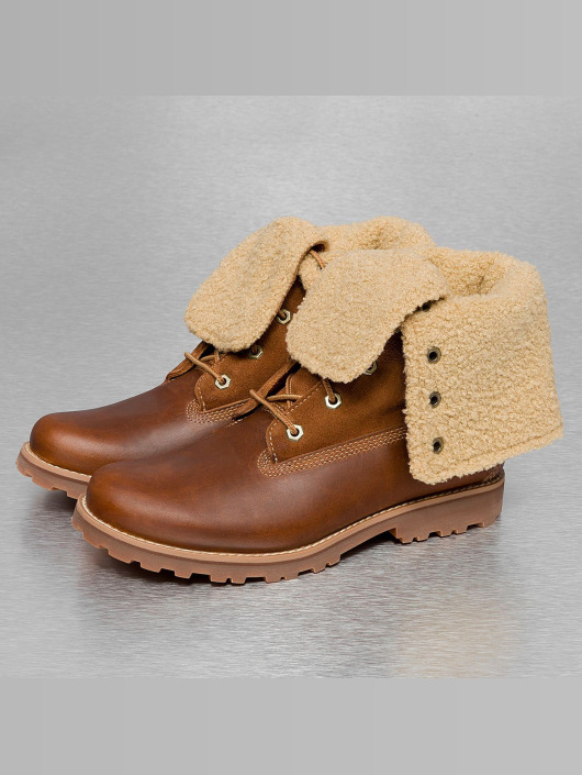 Timberland Boots Authentics 6 In Shearling braun