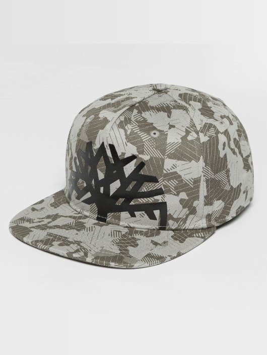 Timberland Casquette Snapback & Strapback Large Logo Camo gris
