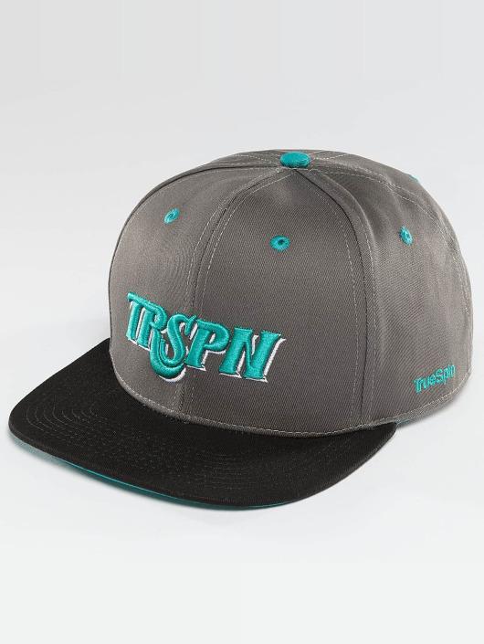 TrueSpin Casquette Snapback & Strapback Team TRSPN gris