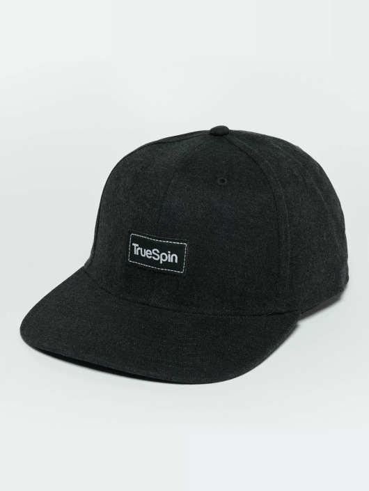 TrueSpin Casquette Snapback & Strapback Decent noir