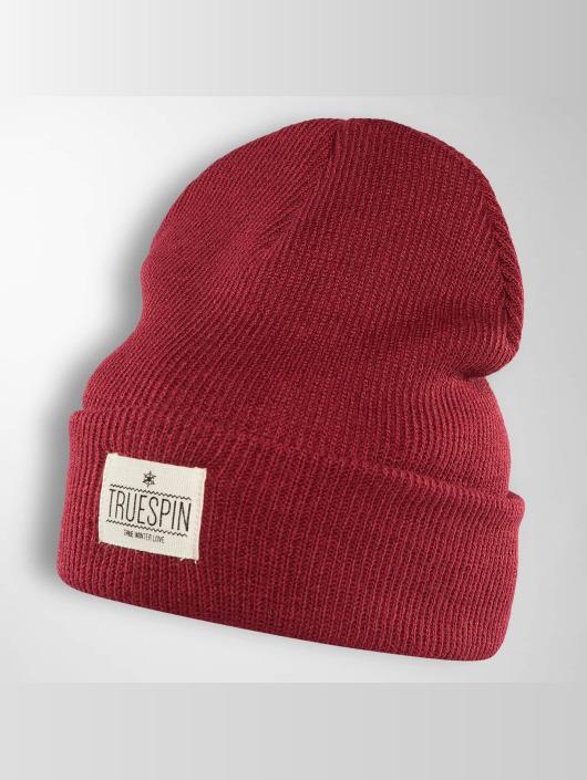 TrueSpin Czapki Warm czerwony