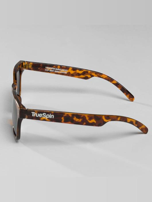 TrueSpin Okulary Amber brazowy