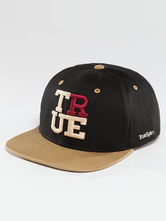 TrueSpin Snapback Cap 4 Letters black