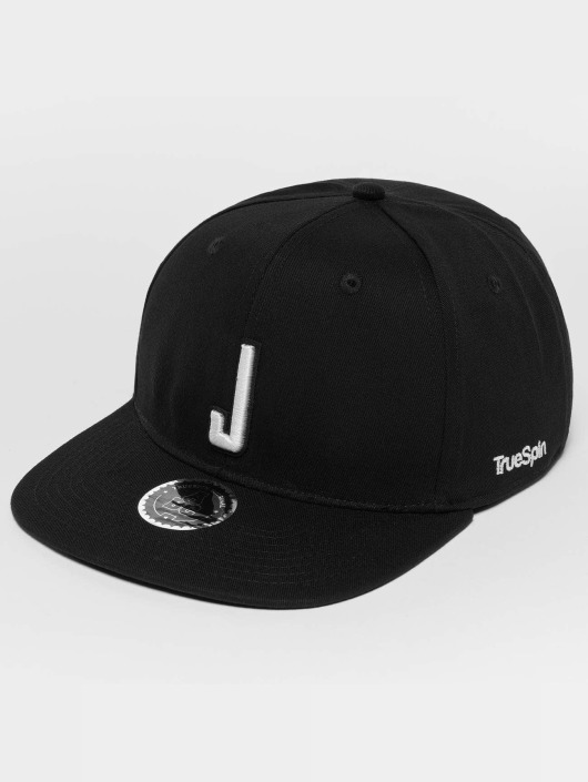 TrueSpin Snapback Cap ABC J black