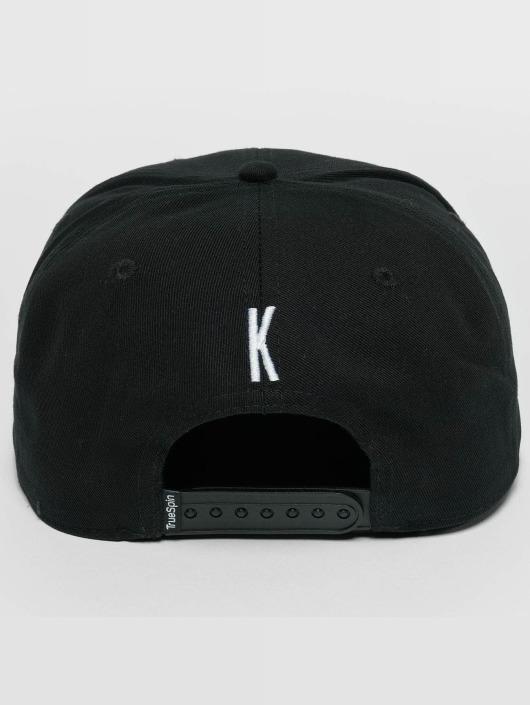 TrueSpin Snapback Cap ABC K black
