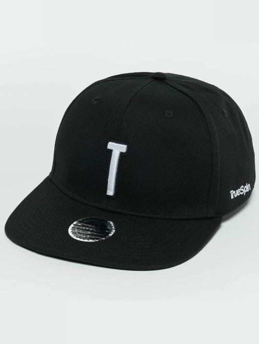 TrueSpin Snapback Cap ABC T black