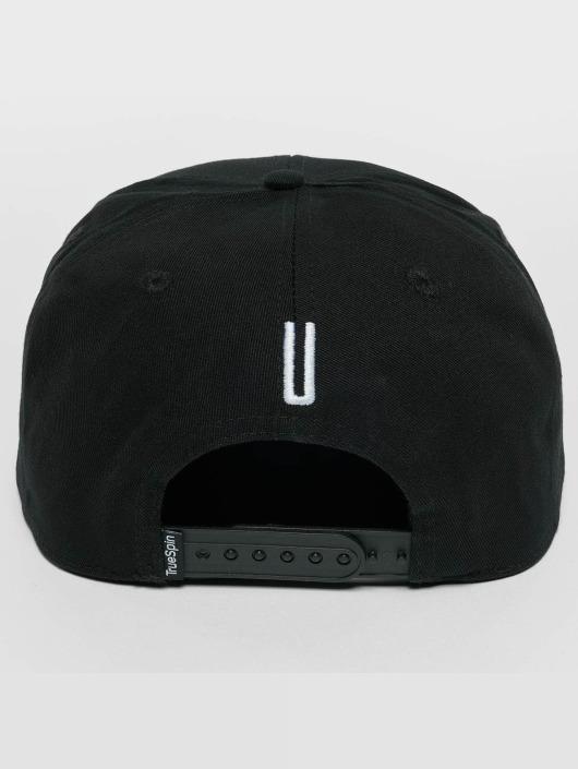 TrueSpin Snapback Cap ABC U black