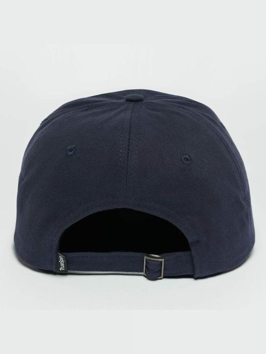 TrueSpin Snapback Cap Tuned Round Visor Plains blau