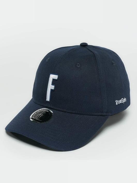 TrueSpin Snapback Cap ABC F blau