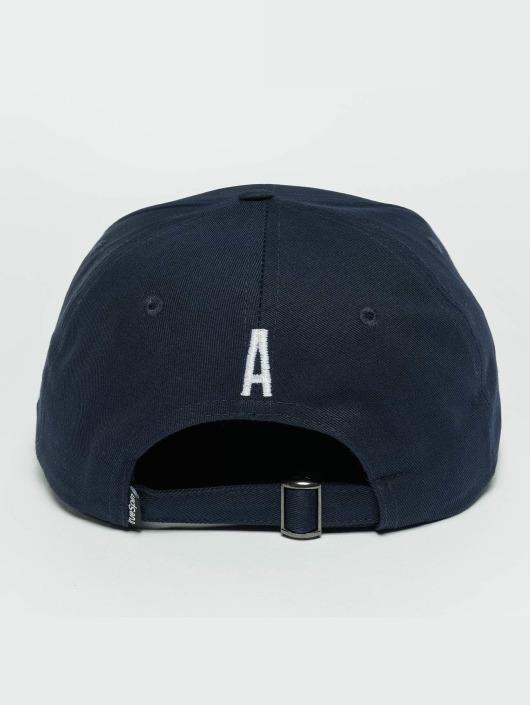 TrueSpin snapback cap ABC A blauw
