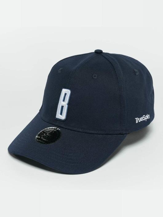 TrueSpin snapback cap ABC B blauw