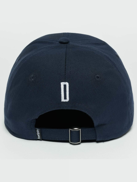 TrueSpin snapback cap ABC D blauw