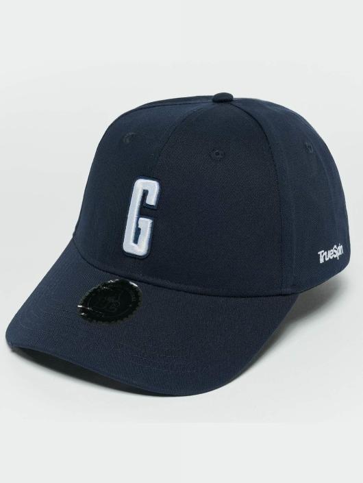 TrueSpin snapback cap ABC G blauw