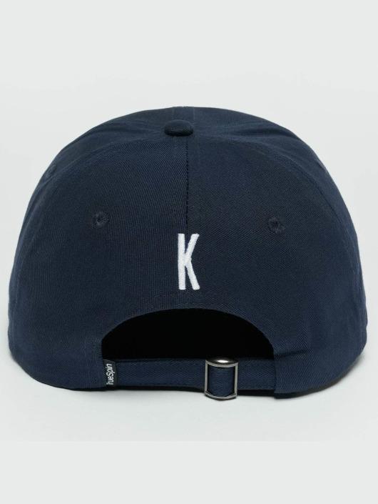TrueSpin snapback cap ABC K blauw