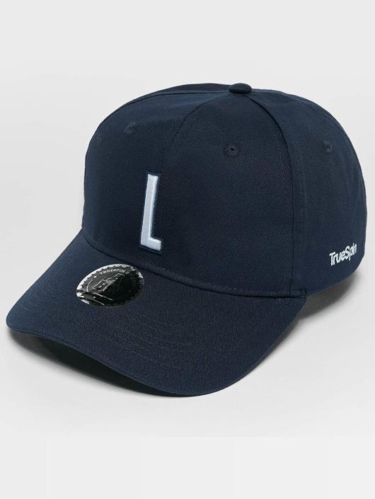 TrueSpin snapback cap ABC L blauw