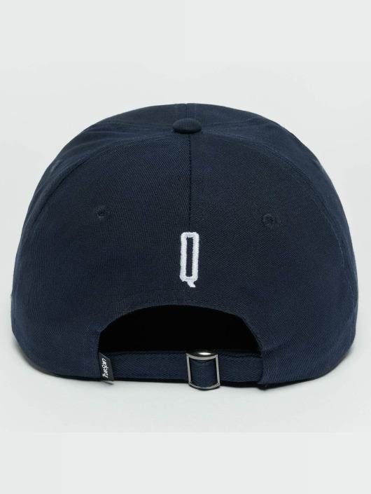 TrueSpin snapback cap ABC Q blauw