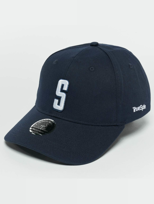 TrueSpin snapback cap ABC S blauw