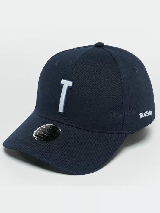TrueSpin snapback cap ABC T blauw