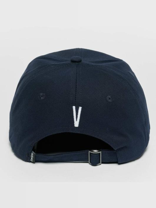 TrueSpin snapback cap ABC V blauw