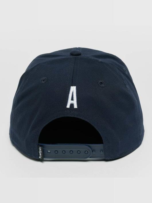 TrueSpin snapback cap Kids ABC A blauw