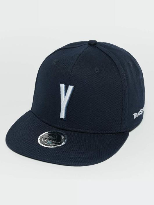 TrueSpin snapback cap Kids ABC Y blauw