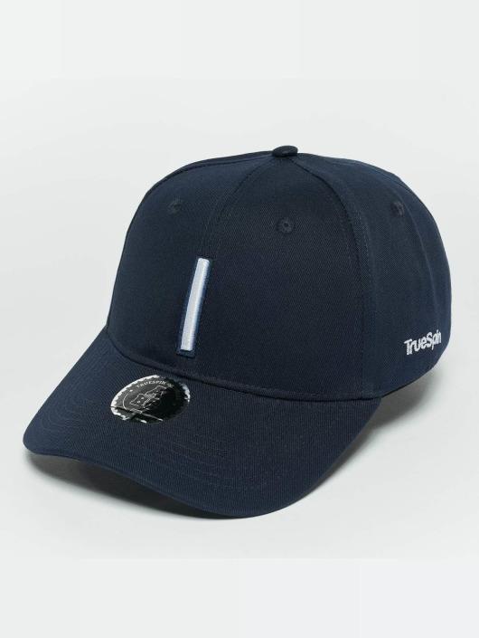 TrueSpin Snapback Cap ABC I blu