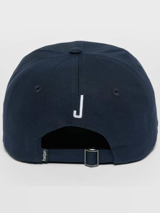 TrueSpin Snapback Cap ABC J blu