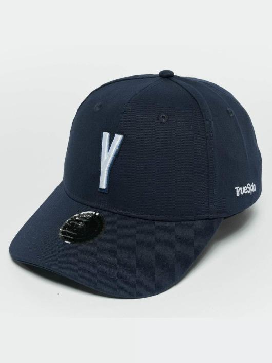 TrueSpin Snapback Cap ABC Y blu
