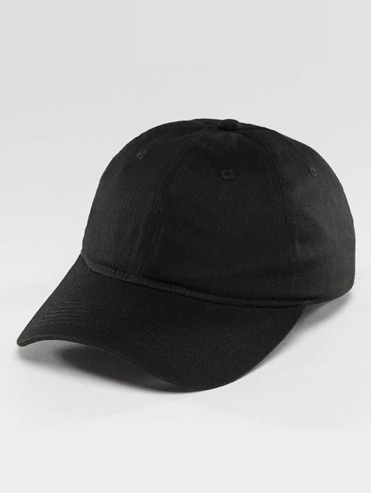 TrueSpin Snapback Cap Blank Round Visor schwarz