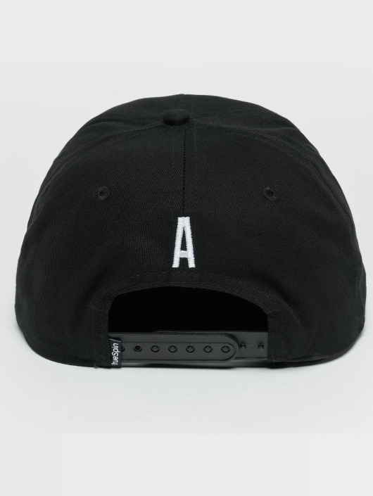 TrueSpin Snapback Cap ABC A schwarz