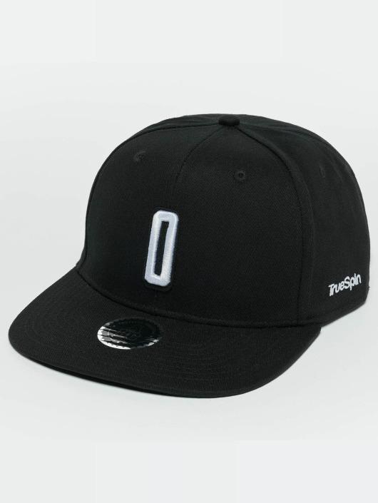 TrueSpin Snapback Cap ABC O schwarz