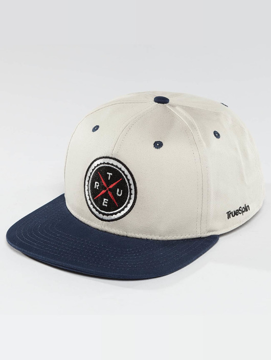 TrueSpin Snapback Cap Twister white