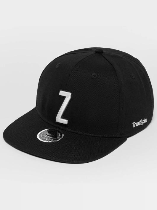 TrueSpin snapback cap ABC Z zwart