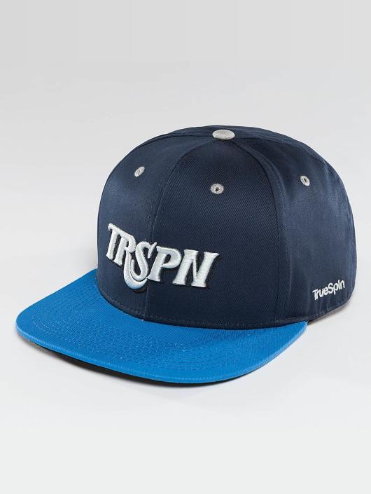 TrueSpin Snapback Caps Team TRSPN blå