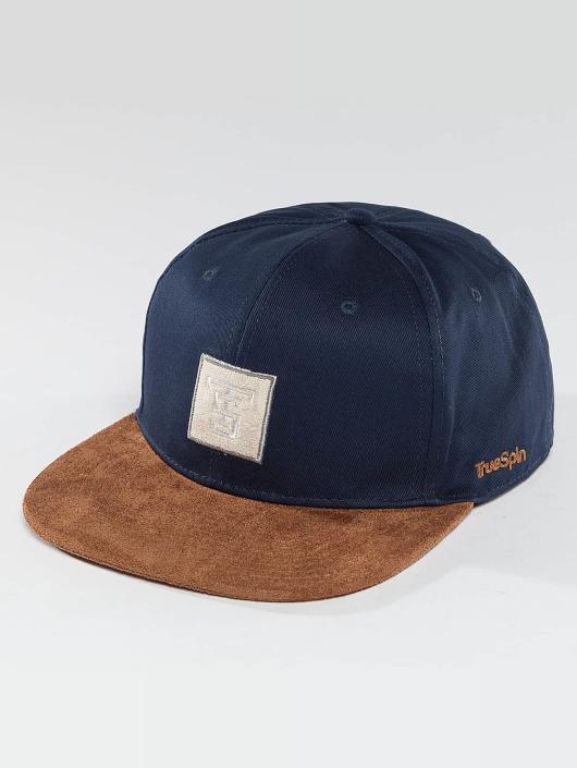 TrueSpin Snapback Caps Gems blå