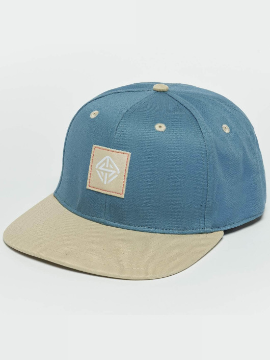 TrueSpin Snapback Caps Next Level blå