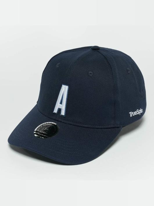 TrueSpin Snapback Caps ABC A blå