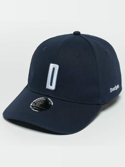 TrueSpin Snapback Caps ABC D blå