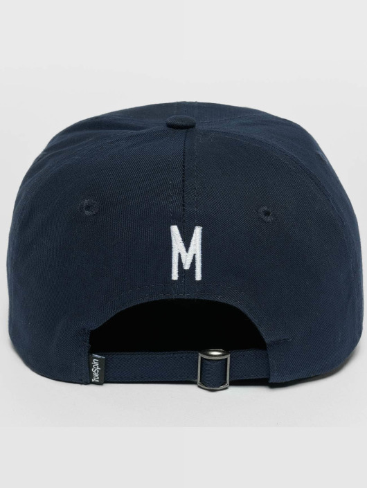 TrueSpin Snapback Caps ABC M blå