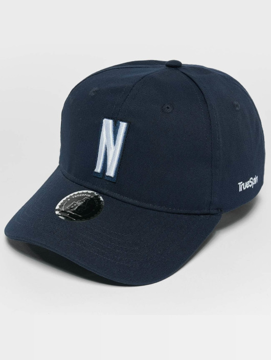 TrueSpin Snapback Caps ABC N blå