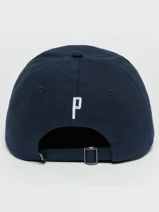 TrueSpin Snapback Caps ABC P blå