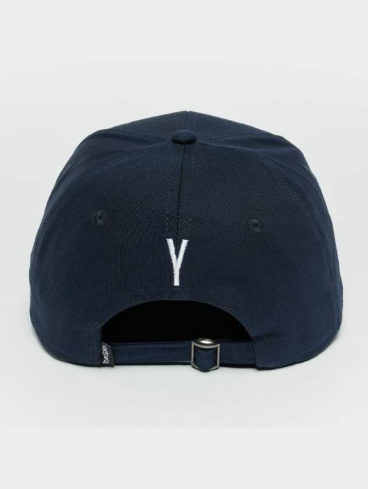 TrueSpin Snapback Caps ABC Y blå