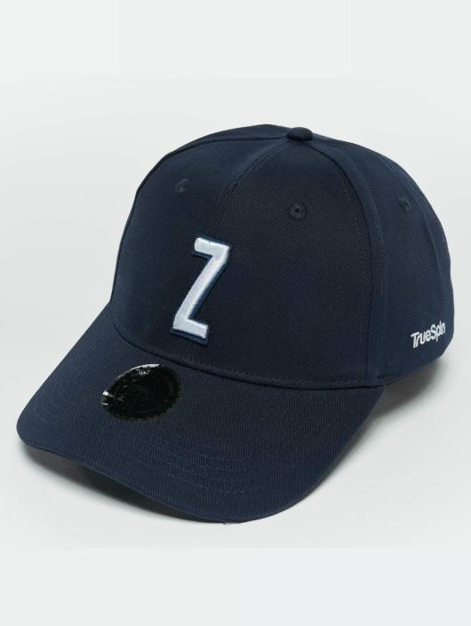 TrueSpin Snapback Caps ABC Z blå