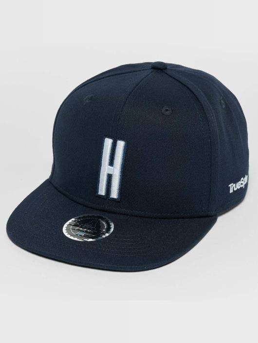 TrueSpin Snapback Caps ABC H blå
